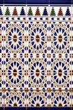 Vertical spanish ceramic tiles Royalty Free Stock Photos