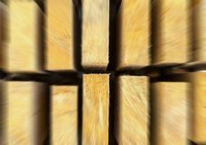 Vertical spruce boards stock effect speed zoom eco background Royalty Free Stock Photos