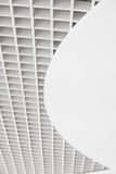 Vertical square mesh ceiling Royalty Free Stock Images