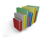 Vertical stack of Books Royalty Free Stock Photo