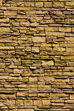 Vertical Stacked Rock Wall Royalty Free Stock Photography