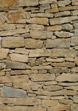 Vertical stone wall Royalty Free Stock Photography