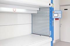 Vertical storage lift Stock Image
