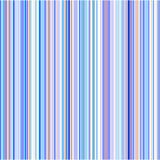 Vertical stripe background. A view of a background consisting of many vertical stripes with various blue colors predominant. Affect is similar to a colored bar stock illustration