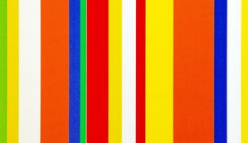 Vertical stripes of colors Royalty Free Stock Photo