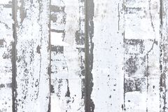 Vertical strips of white torn paper stock photography