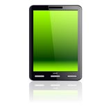 Vertical Tablet computer Royalty Free Stock Image