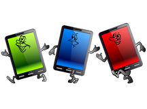 Vertical Tablet computer Royalty Free Stock Photo
