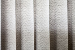Vertical textile window blinds Stock Photos