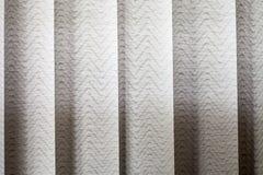 Vertical textile window blinds Stock Photos