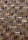 Vertical texture of a coarse fabric.  Royalty Free Stock Photos
