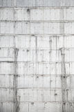 Vertical texture of concrete wall under construction Royalty Free Stock Images