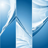 Vertical vector banners Stock Photography