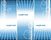 Vertical vector templates Royalty Free Stock Images