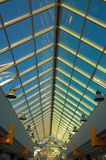 Vertical view on ceiling. Vertical view on office ceiling Royalty Free Stock Image