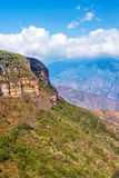 Vertical View of Chicamocha Canyon Stock Photos