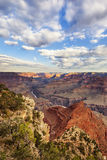 Vertical view of Grand Canyon Stock Image