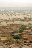 Vertical view of Hombori in eastern Mali Stock Images