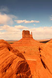 Vertical View of Monument Valley Stock Photos