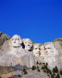 Vertical view of Mt. Rushmore, SD Stock Photography