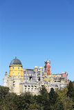 Vertical view of Pena National Palace Stock Photo