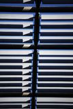 Abstract view of Architectural Roof fins. stock images