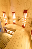 Vertical view of sauna Royalty Free Stock Photography