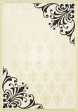 Vertical vintage background for Book cover Royalty Free Stock Images