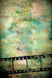 Vertical vintage film background Royalty Free Stock Photography