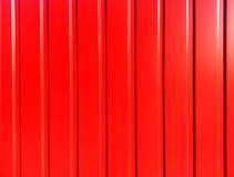 Vertical vivid red panels abstraction Stock Photo