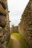 Vertical wall frame of the stones Royalty Free Stock Images