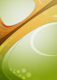 Vertical wave background Royalty Free Stock Image