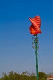 Vertical wind turbine Stock Images