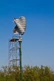 Vertical wind turbine under construction Royalty Free Stock Photos