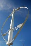 Vertical Wind turbines stock photo
