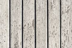 Vertical Wood Lines Background. White Peeled Paint Texture of Vertical Wood Lines Background royalty free stock image