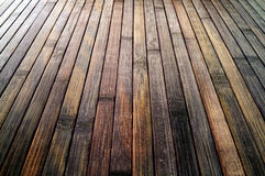 Vertical wood planks surface Stock Photo