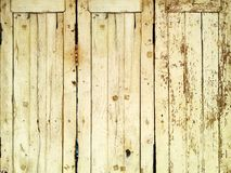 Vertical wood wall texture and background. doors and windows Stock Photos