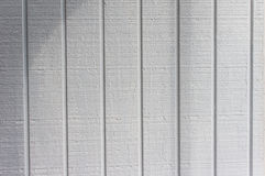 Vertical wooden siding with pattern Royalty Free Stock Photography