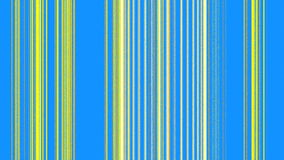 Vertical Yellow Lines on Blue Royalty Free Stock Photography
