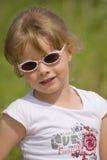 Verticale 1 de petite fille Photo libre de droits