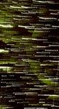 Verticale abstracte groene banner voor Webontwerp en om het even welk art. Stock Fotografie