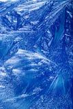 Verticale abstraite de fond de l'hiver Image stock