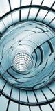 Verticale abstraite de fond de technologie de tunnel Images libres de droits