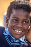 Verticale africaine d'enfant Images stock