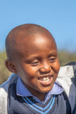 Verticale africaine d'enfant Image stock
