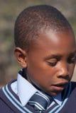 Verticale africaine d'enfant Photos stock