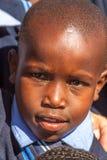 Verticale africaine d'enfant Photo stock