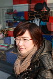 Verticale asiatique Photographie stock libre de droits