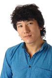 Verticale asiatique d'homme Images stock